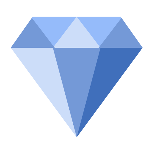 Flat Icon - Diamant