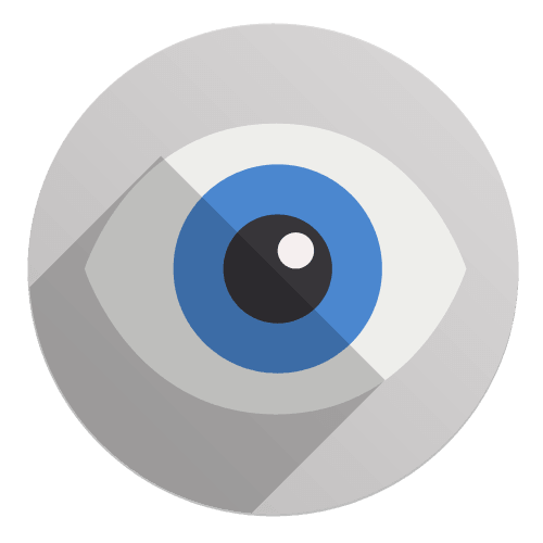 Flat Icon - Auge