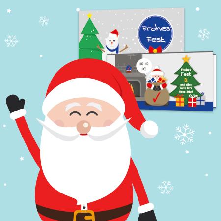 Weihnachtskarten haptisch ist pers nlicher als digital - Digitale weihnachtskarten ...